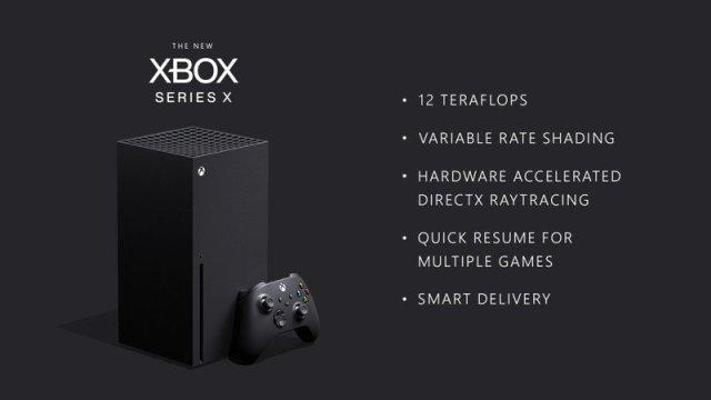 Xbox Series X Short Specs
