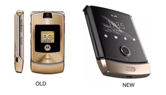 Motorola RAZR Gold Phone 3