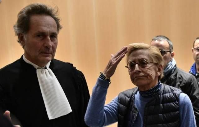 Pierre-Olivier Sur, l'avocat d'Isabelle Balkany, en compagnie de sa cliente.