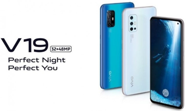 vivo V19 coming on March 10 with a punch-hole display and 48MP quad camera