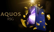"""Sharp announces Aquos R5G with 6.5"""" QHD+ display, Snapdragon 865 and 8K video recording"""