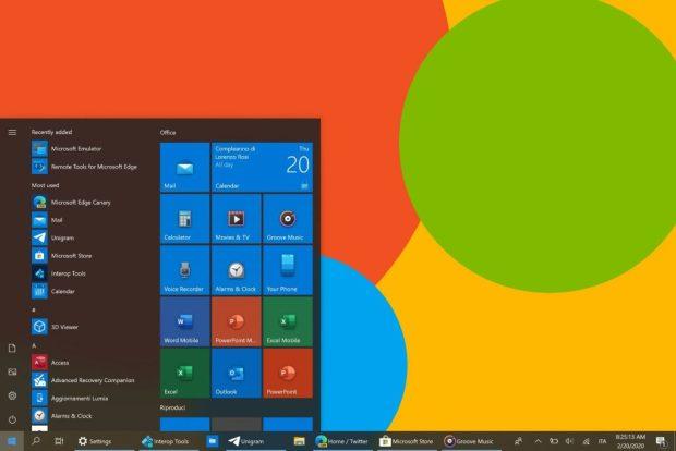Windows 10, Microsoft déploie de nouvelles icones colorées