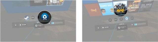 Click the Revive button. Click a Rift game.