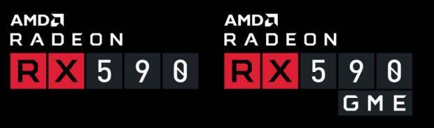 Radeon RX 590 GME d'AMD