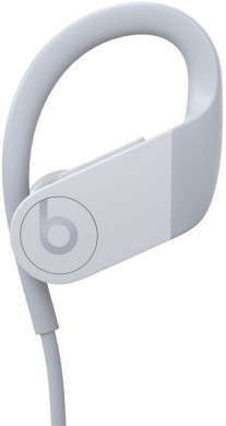 Powerbeats 4 in white, balck and red