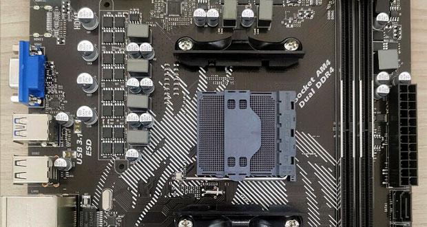 Carte mère AMD B550 de SOYO