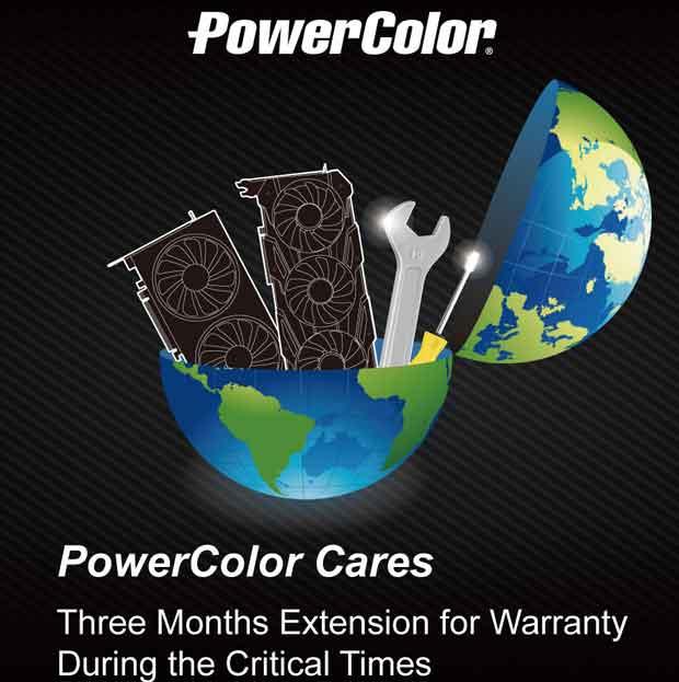 PowerColor Cares