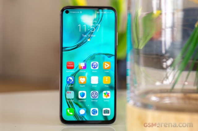 Huawei P40 Lite in for review