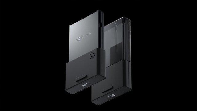 Xbox Series X Seagate Expandable Card