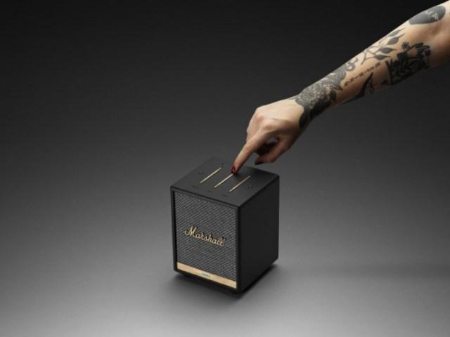 Marshall Uxbridge Voice packs Alexa and AirPlay 2 in a tiny box