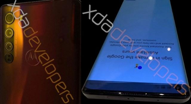 Motorola Edge photos and specs leak - Snapdragon 765, waterfall screen