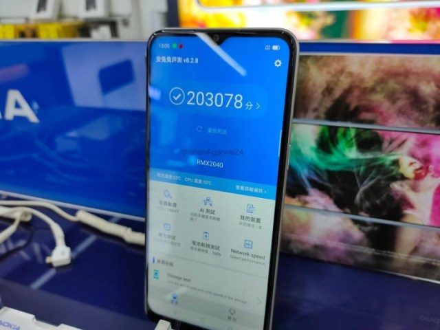 Narzo 10 spotted in retail store, price segment revealed