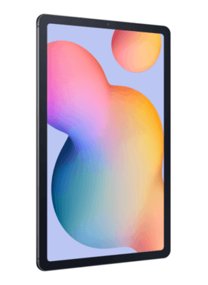 Samsung Galaxy Tab S6 Lite Left Angle Design Blue