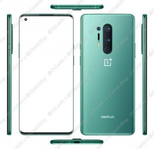 OnePlus 8 Pro official images (leak)