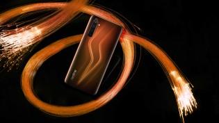 Realme 6 Pro in Lightning Orange color