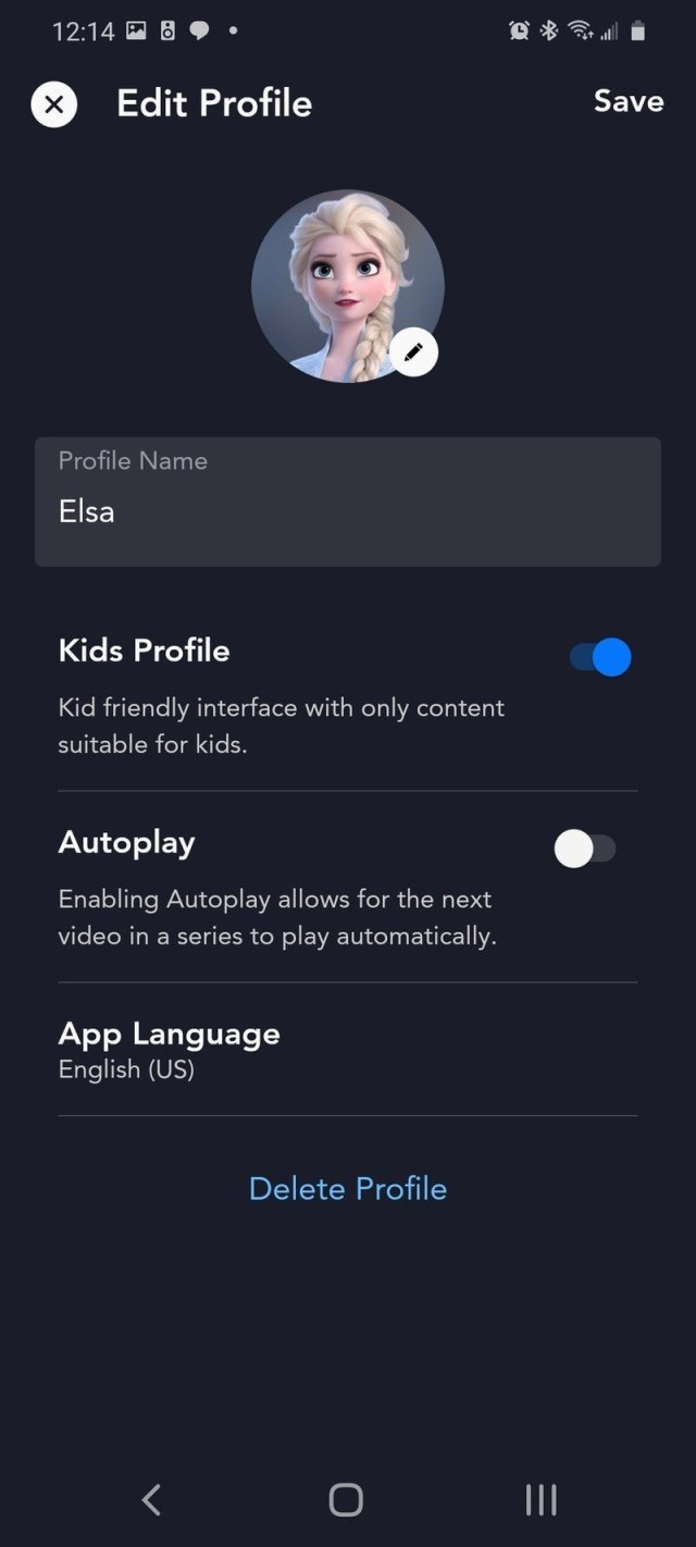 Toggle Autoplay off