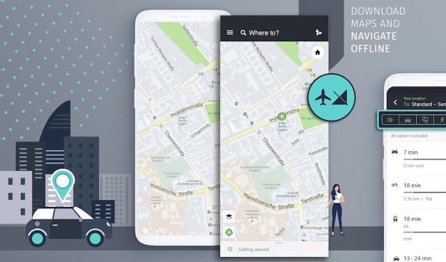 HERE We GO Maps Huawei