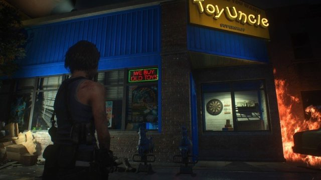 Resident Evil 3 Toy Uncle Store