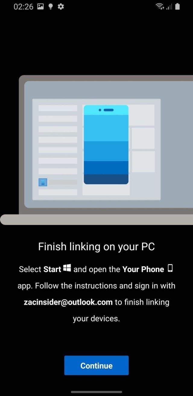 Your Phone Setup