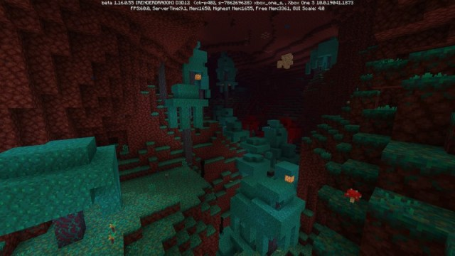 Minecraft Nether Update Beta Warped Forest