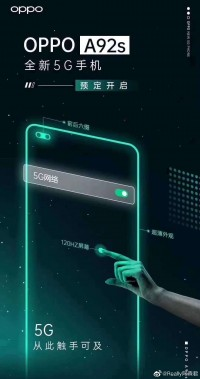 Oppo A92 poster