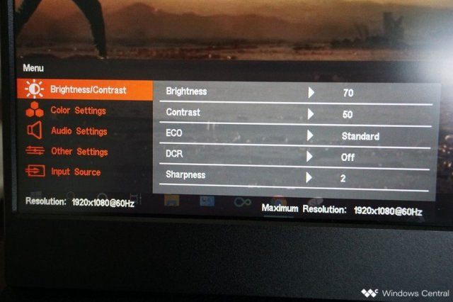 Auzai Monitor Settings