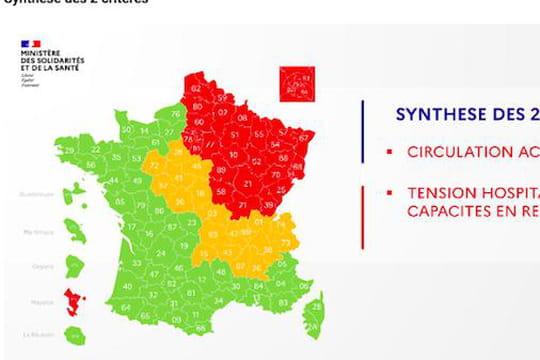 Carte du déconfinement: quels départements en rouge ou vert? La dernière mise à jour