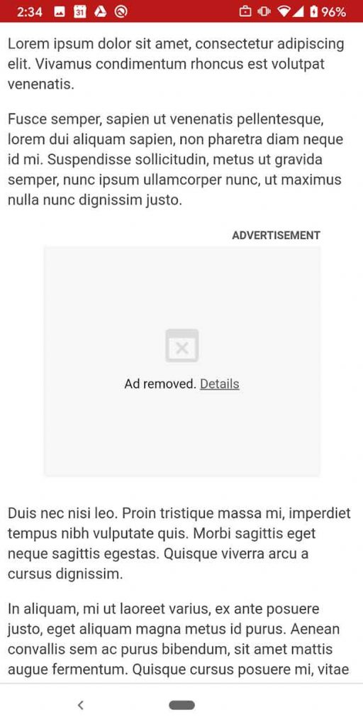 """Chrome et la publicité """"gourmande"""""""