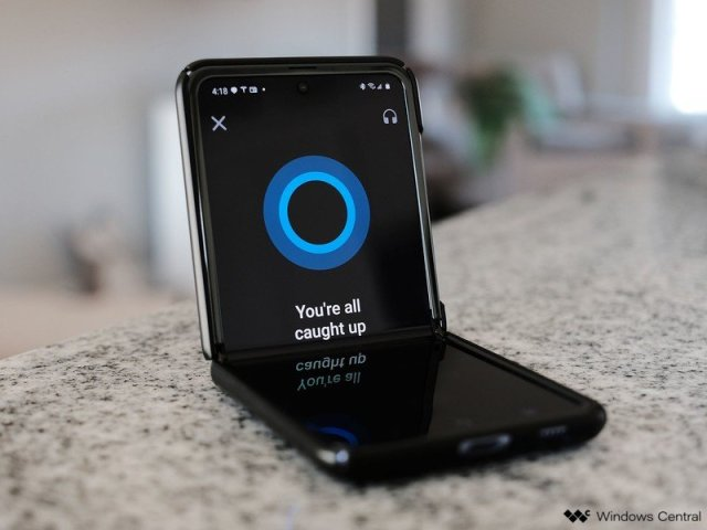 Cortana Commuter Reademail Android