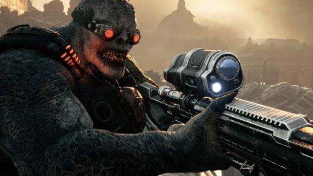 Gears Tactics Sniper