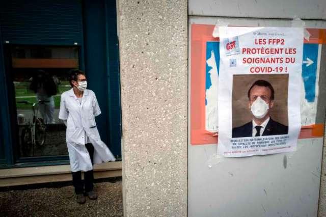 Devant l'hôpital Purpan à Toulouse, le 11 mai.