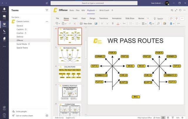 Teams PowerPoint