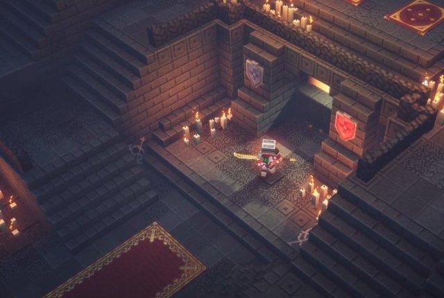 Minecraft Dungeons Underhall Entrance
