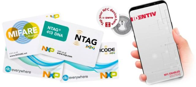 nfc enabled solutions identiv