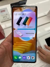 LG Velvet live images