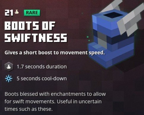Minecraft Dungeons Boots Of Swiftness