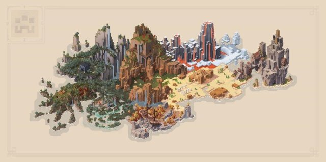 Minecraft Dungeons Full Map