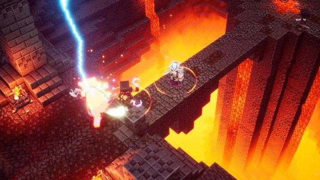 Minecraft Dungeons Lava