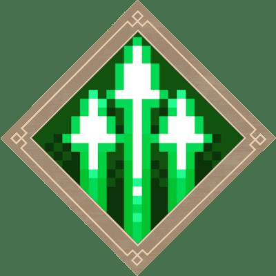Minecraft Dungeons Multishot Enchantment