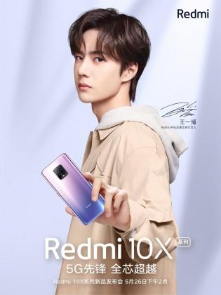 Redmi 10X posters