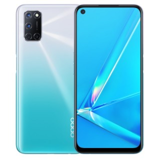Oppo A92 in white and black