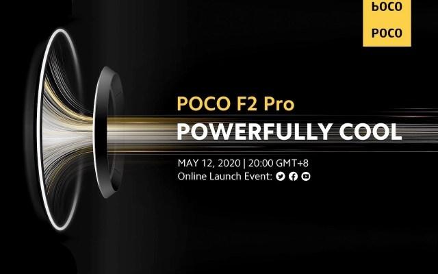 POCO F2 Pro May 11 2020