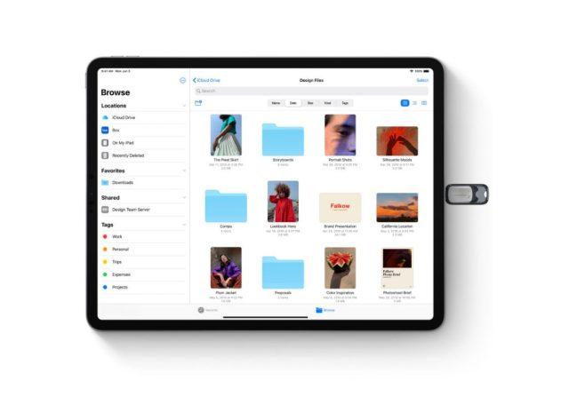 iPadOS USB