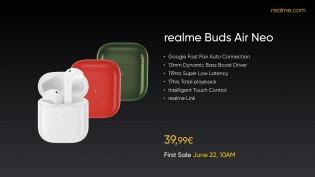 Realme Buds Air Neo and Realme Power Bank 2