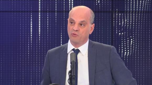 """Jean-Michel Blanquer, ministre de l\'Éducation nationale et de la Jeunesse, était l\'invité du \""""8h30 franceinfo\"""", vendredi 29 mai 2020."""