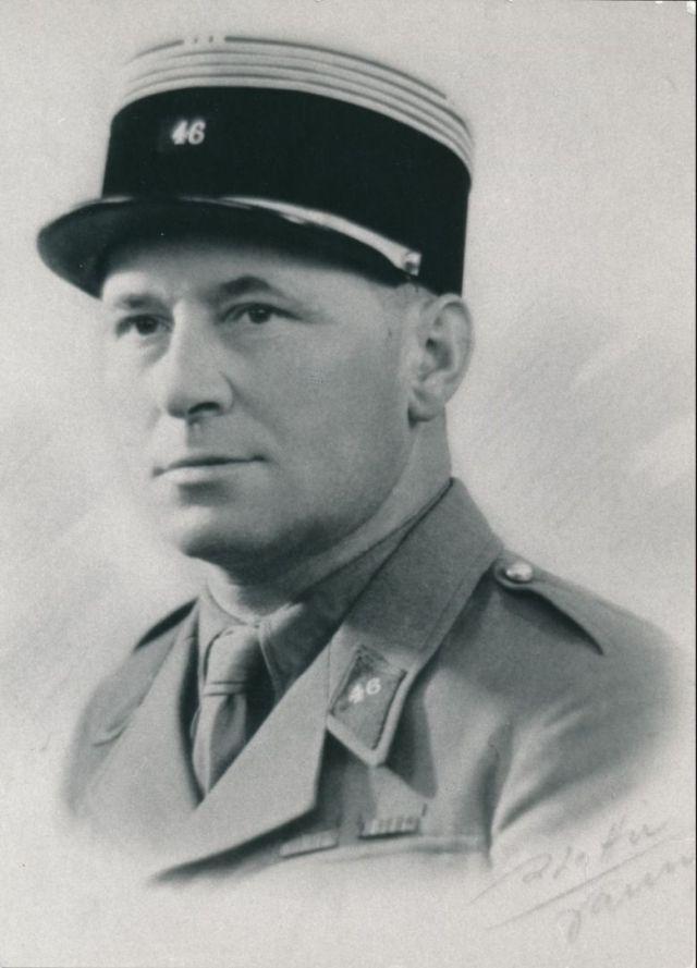Le commandant Bescond, tué dans l'attaque du 17 mai. / © Collection Régis Potié