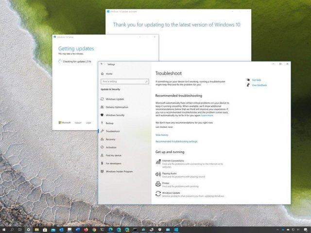 Windows 10 April 2020 (version 2004) fix problems