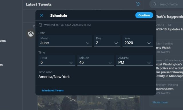 Twitter Scheduler Pwa