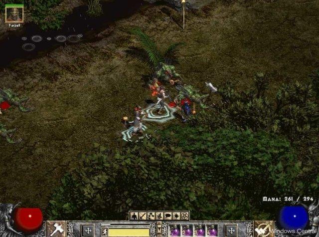 Diablo II Kurast jungles