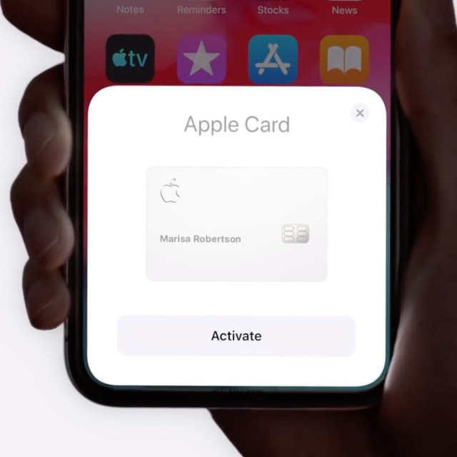 apple card activation